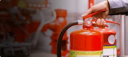 Fire Protection Extinguisher